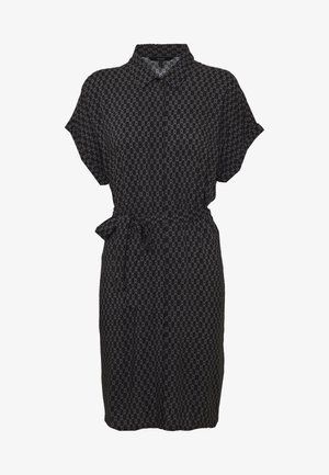 VMSIMPLY EASY DRESS - Skjortklänning - black/felicia tornado