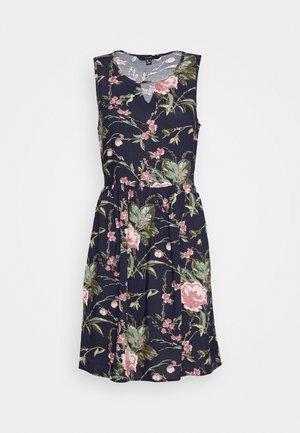 VMSIMPLY EASY SHORT DRESS - Denní šaty - night sky