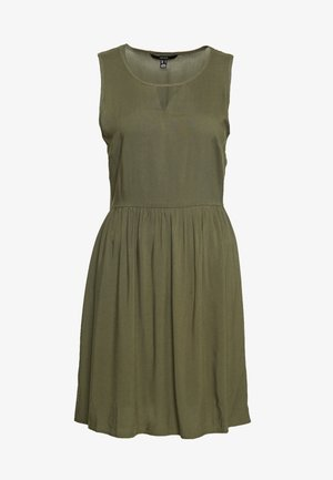 VMSIMPLY EASY SHORT DRESS - Day dress - ivy green