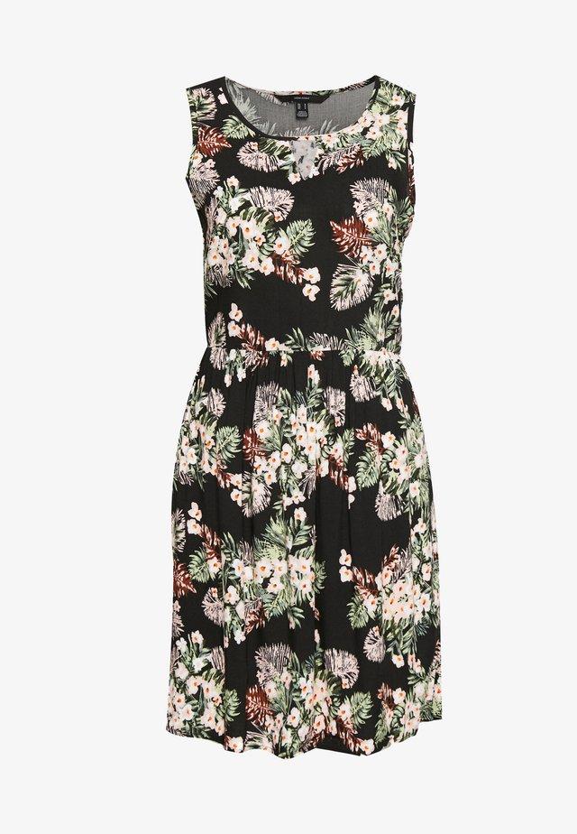 VMSIMPLY EASY SHORT DRESS - Vestido informal - black/pilar