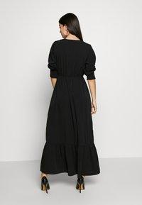 Vero Moda - VMMULLI 3/4 ANKLE DRESS WVN - Maxi-jurk - black - 3