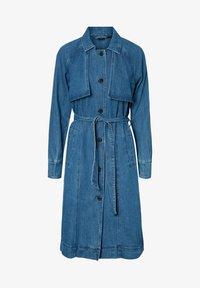 Vero Moda - Trenchcoat - medium blue denim - 5