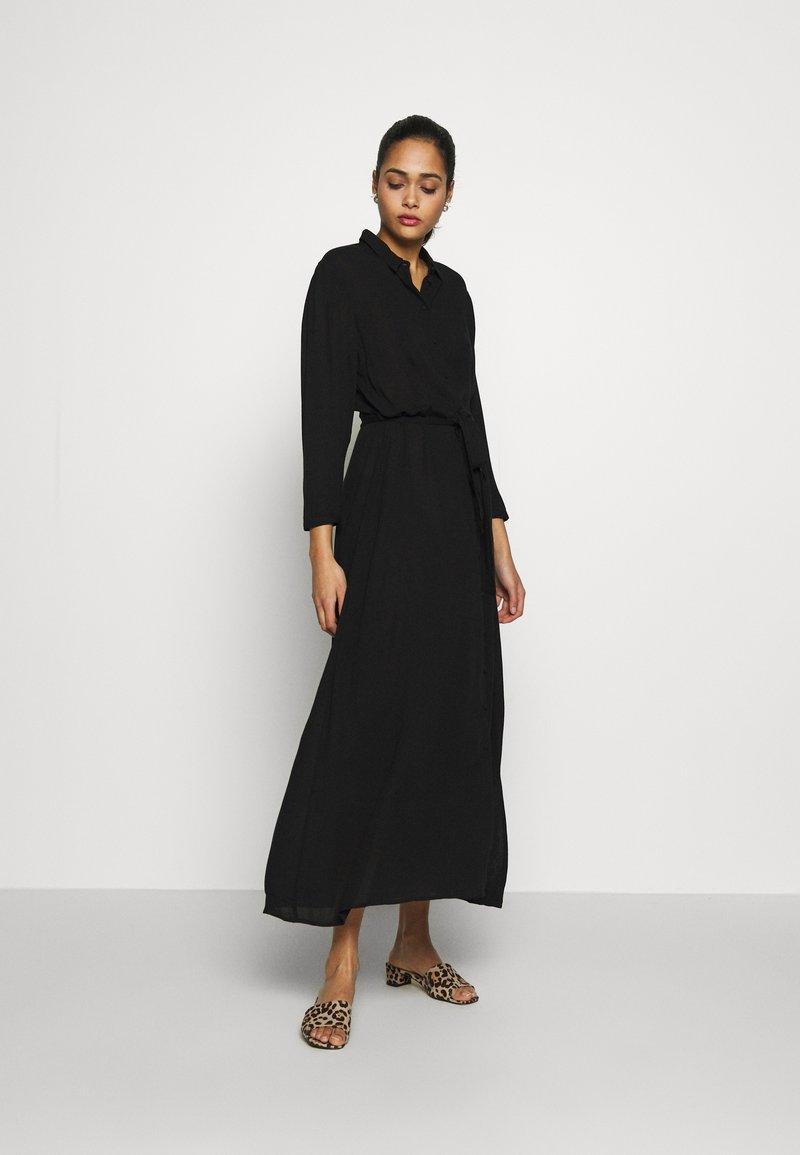 Vero Moda - VMATHEN  - Skjortekjole - black