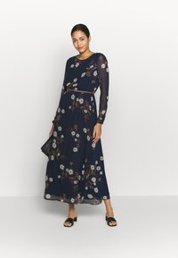 Vero Moda - VMCARINA BELT DRESS - Maxi šaty - navy - 1
