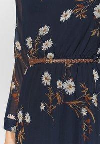 Vero Moda - VMCARINA BELT DRESS - Maxi dress - navy - 5