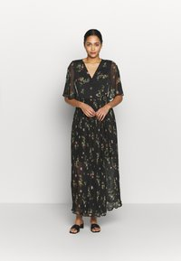 Vero Moda - VMMAYA WRAP DRESS - Maxikjole - black - 1
