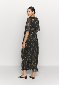 Vero Moda - VMMAYA WRAP DRESS - Maxikjole - black - 2