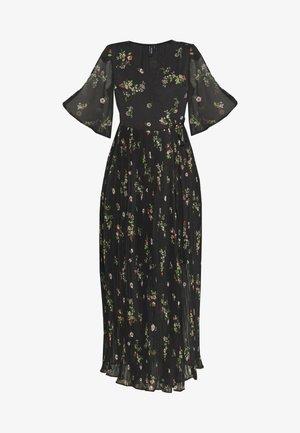 VMMAYA WRAP DRESS - Maxi šaty - black