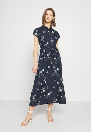 VMFALLIE LONG TIE DRESS - Korte jurk - navy blazer