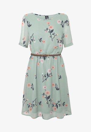 VMFALLIE BELT DRESS - Day dress - green milieu