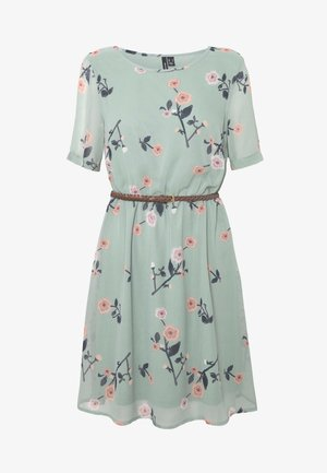 VMFALLIE BELT DRESS - Sukienka letnia - green milieu