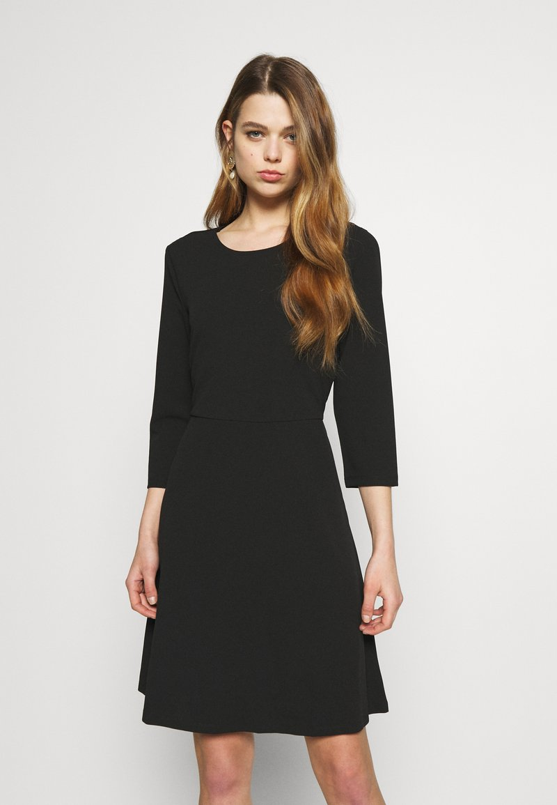 Vero Moda - VMOLIVIA SHORT DRESS - Jersey dress - black