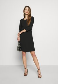 Vero Moda - VMOLIVIA SHORT DRESS - Jersey dress - black - 1
