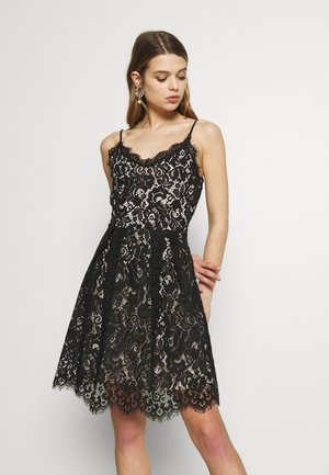 VMMNYA DRESS - Cocktail dress / Party dress - black/beige