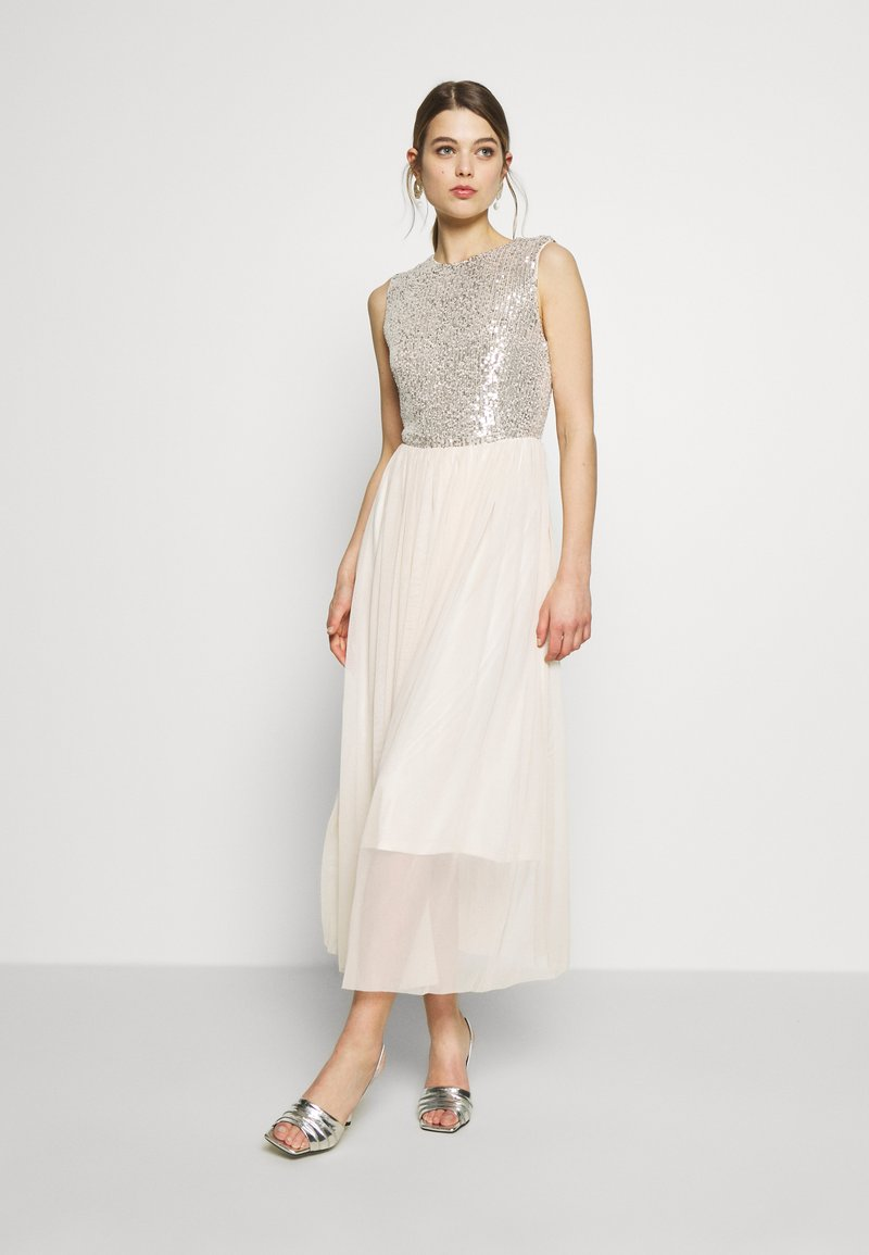 Vero Moda - VMMADDIE ANKLE SEQUINS DRESS - Suknia balowa - birch