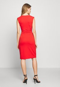 Vero Moda - VMDOLLY SHORT DRESS - Shift dress - aurora red - 2