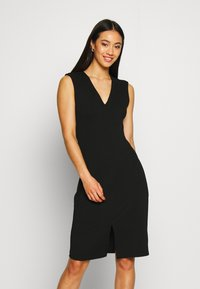 Vero Moda - VMDOLLY SHORT DRESS - Vestido de tubo - black - 0