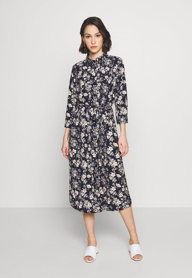 VMDIANA CALF DRESS - Sukienka koszulowa - night sky/diana
