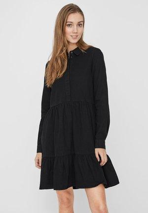 Robe en jean - black