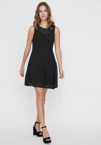 Vero Moda - VMALLIE  - Vestito elegante - black - 1