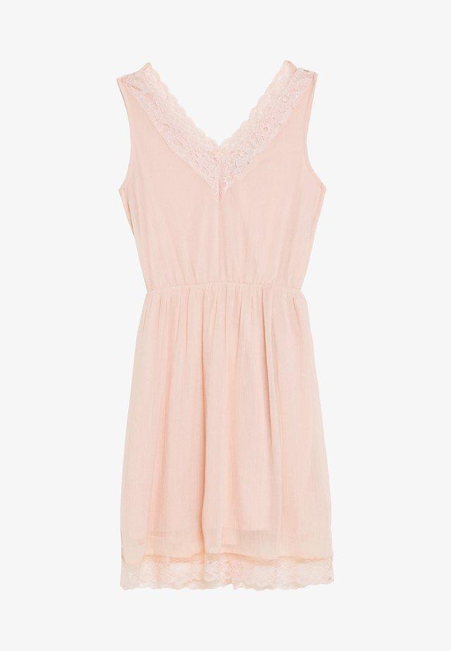 VMPERNILLA SHORT DRESS - Robe d'été - sepia rose