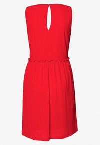 Vero Moda - VMKATIE SHORT DRESS - Robe d'été - aurora red - 1