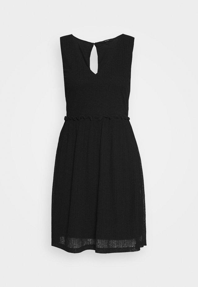 VMKATIE SHORT DRESS - Korte jurk - black