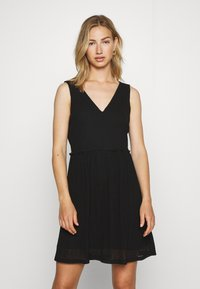 Vero Moda - VMKATIE SHORT DRESS - Korte jurk - black - 0