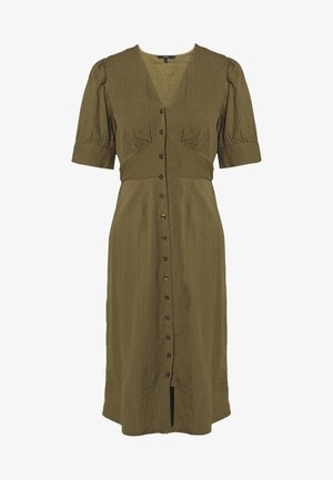 VMKASSANDRA KNEE DRESS - Shirt dress - ivy green