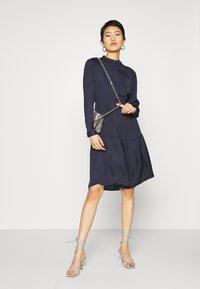 Vero Moda - VMKATE DRESS BELT - Shirt dress - night sky - 1
