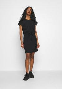Vero Moda - VMSASHA BALI SHORT DRESS NOOS - Sukienka letnia - black - 2