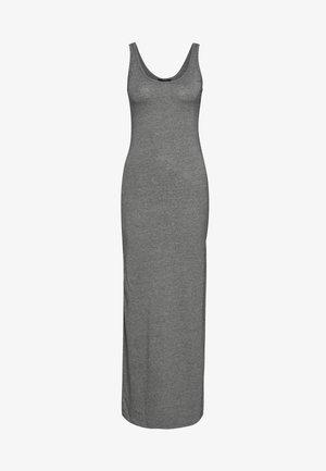 VMNANNA SL ANCLE DRESS COLOR - Vestito lungo - medium grey melange