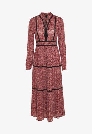 VMROSEY BOHO ANKLE DRESS - Maxi dress - marsala/rosey