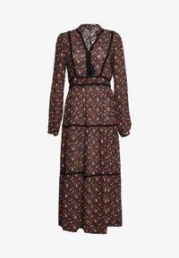 Vero Moda - VMROSEY BOHO ANKLE DRESS - Maxi dress - navy blazer/rosey - 0