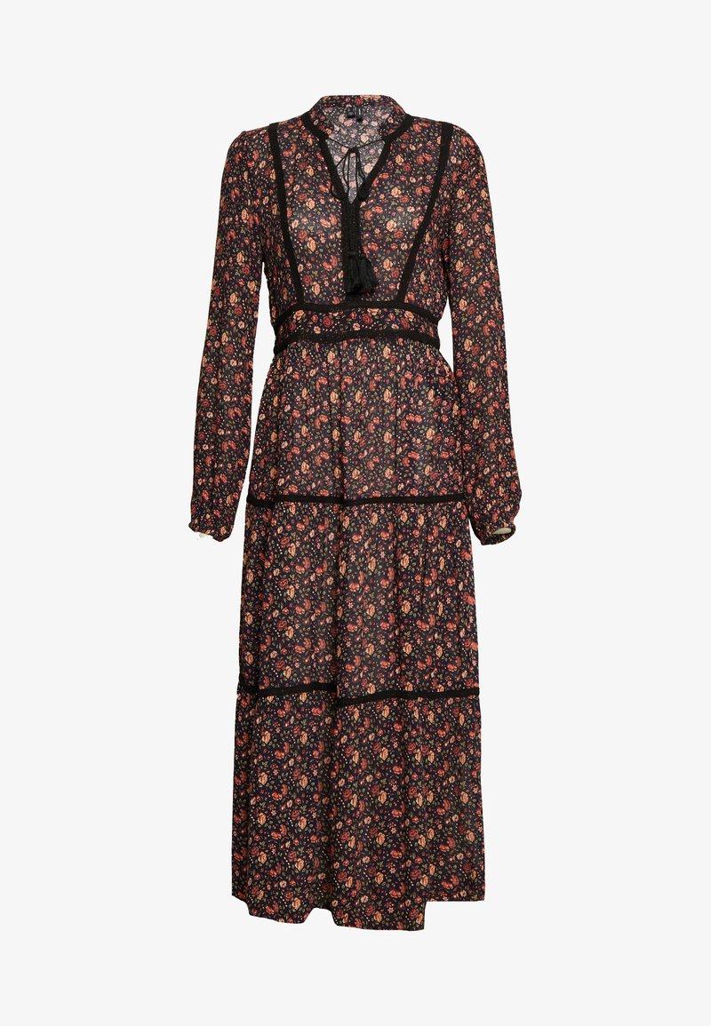 Vero Moda - VMROSEY BOHO ANKLE DRESS - Maxi dress - navy blazer/rosey