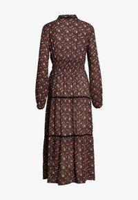 Vero Moda - VMROSEY BOHO ANKLE DRESS - Maxi dress - navy blazer/rosey - 1
