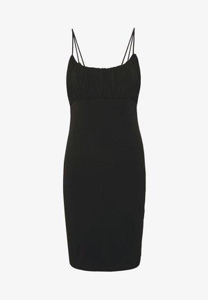 VMFRANKIE SINGLET DRESS - Pouzdrové šaty - black