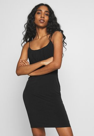 VMFRANKIE SINGLET DRESS - Robe fourreau - black