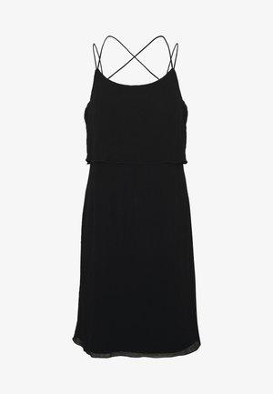 VMALEXA SINGLET SHORT DRESS - Day dress - black