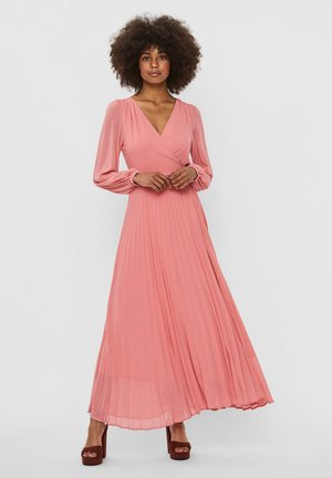 VMLAUREN WRAP DRESS - Sukienka koktajlowa - tea rose