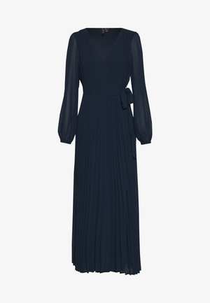 VMLAUREN WRAP DRESS - Cocktailkjoler / festkjoler - navy blazer