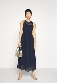 Vero Moda - VMVANESSA DRESS ANCLE - Occasion wear - night sky - 1