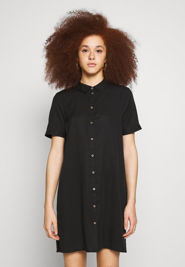 VMCHLOE TUNIC DRESS - Shirt dress - black