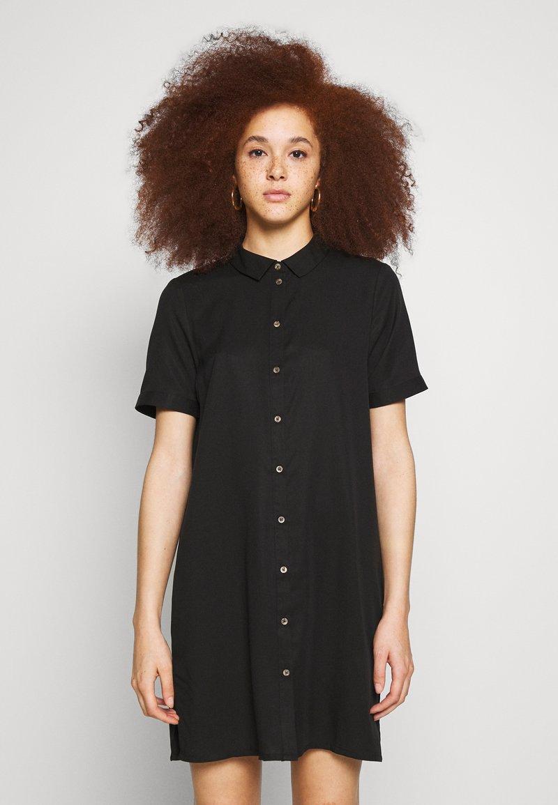 Vero Moda - VMCHLOE TUNIC DRESS - Blousejurk - black