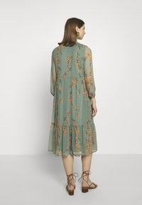 Vero Moda - VMWONDA CALF DRESS - Shirt dress - laurel wreath - 2