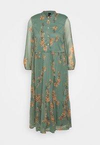 Vero Moda - VMWONDA CALF DRESS - Shirt dress - laurel wreath - 3