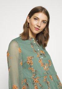 Vero Moda - VMWONDA CALF DRESS - Shirt dress - laurel wreath - 4