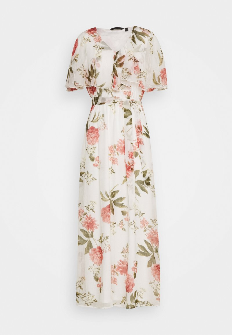 Vero Moda - VMLUCCA FRILL DRESS - Vestito elegante - birch/lucca