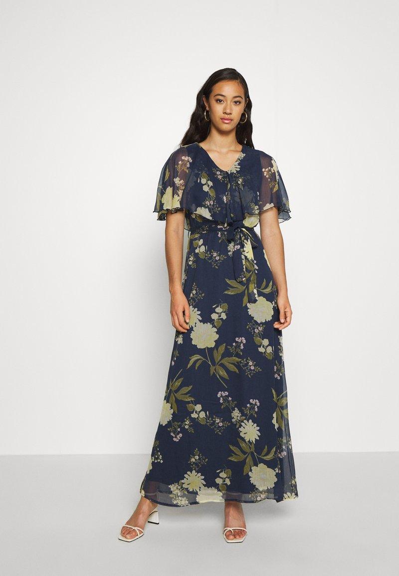 Vero Moda - VMLUCCA FRILL DRESS - Occasion wear - night sky