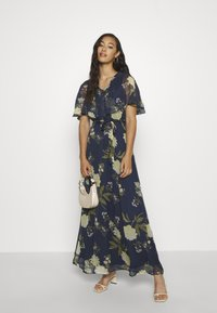 Vero Moda - VMLUCCA FRILL DRESS - Occasion wear - night sky - 1